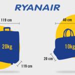 10 Trucos para pasar el control de equipaje de Ryanair