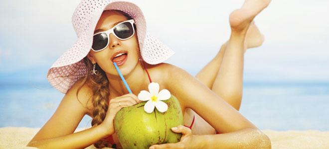 Dieta en la playa