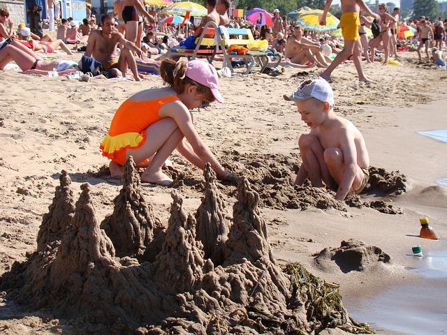 Playas para ir con niños