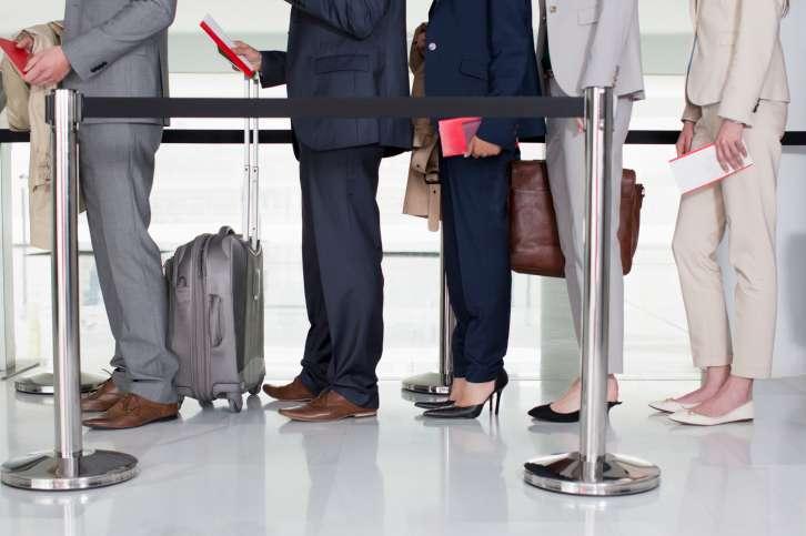 evitar las colas del aeropuerto