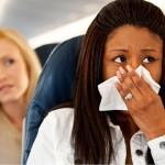 Cómo evitar los mareos en el avión