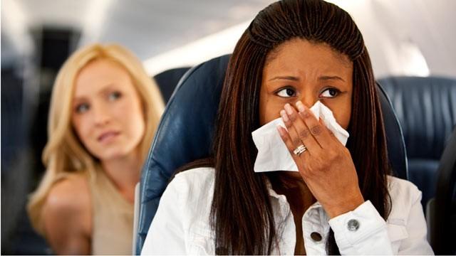 Mareos en el avión
