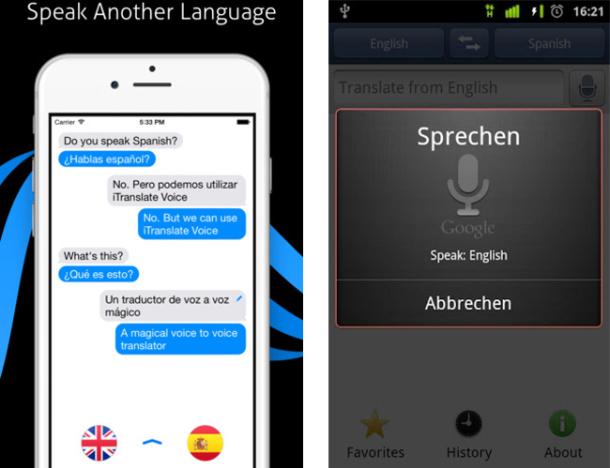 aplicaciones de traducción simultánea
