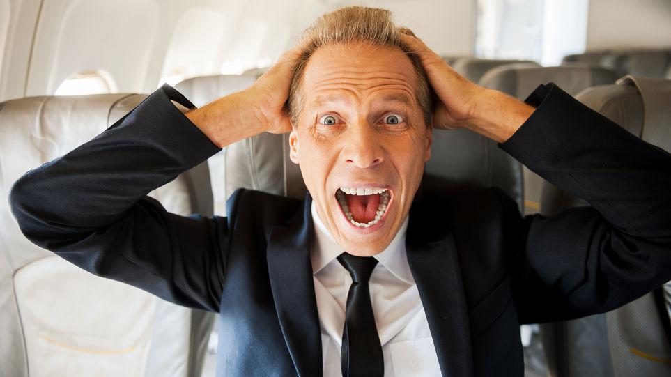 claustrofobia al viajar en avión