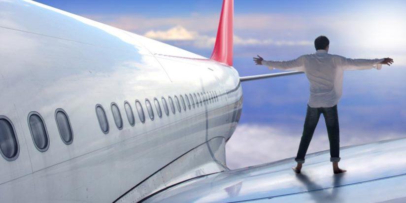 volar en avión por primera vez