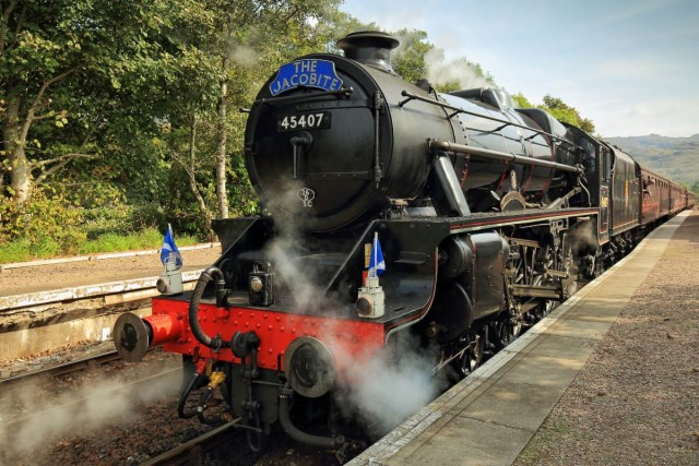 viajes en tren a vapor